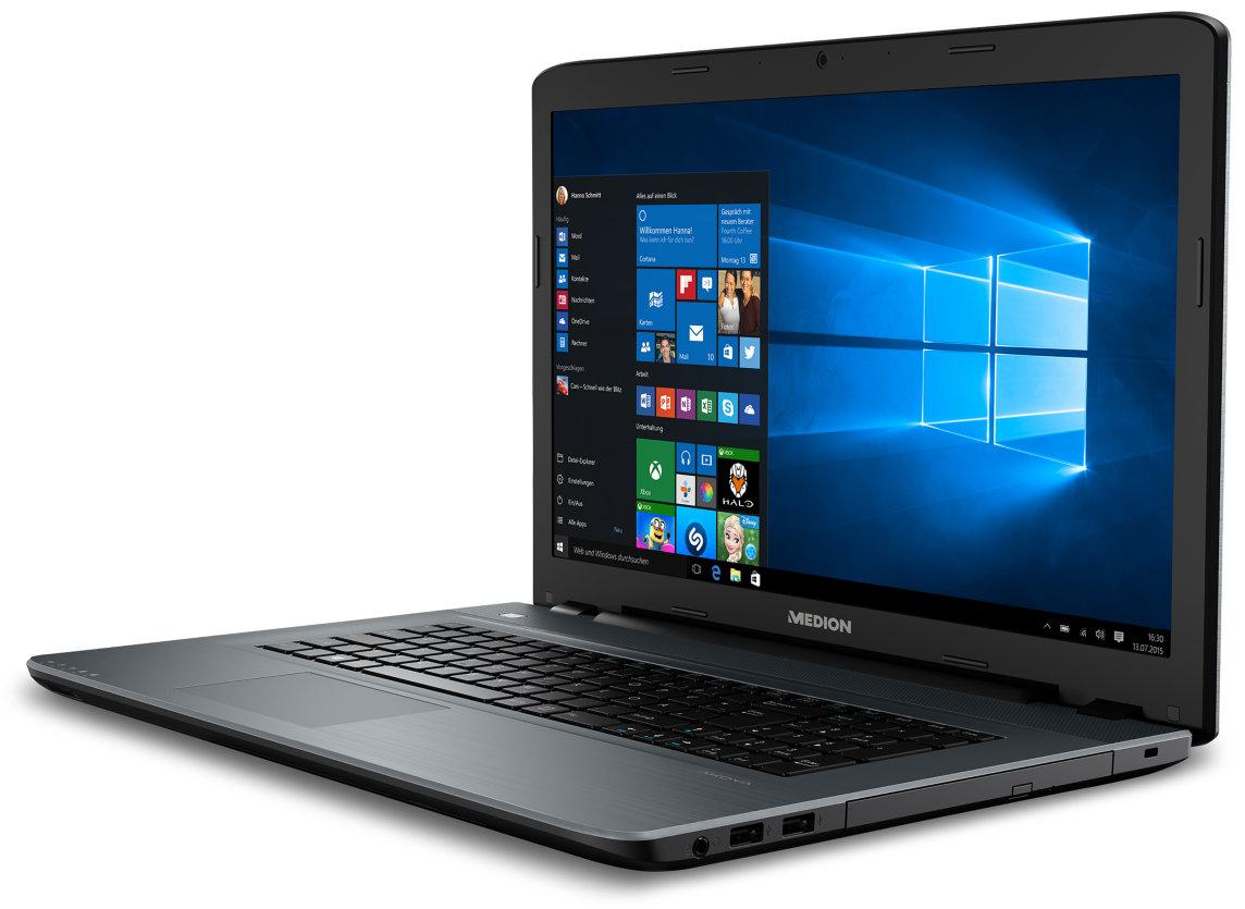 """[Medion] MEDION AKOYA P7649, i5-8250U, Win 10 Home, 43,9 cm (17,3"""") FHD Display, GeForce 940MX, 8 GB RAM, 128 GB SSD, 1.5 TB HDD, Multimedia Notebook"""