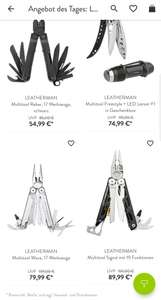 Leathermans im Tagesdeal (z.B. Signal DMAX oder Wave)