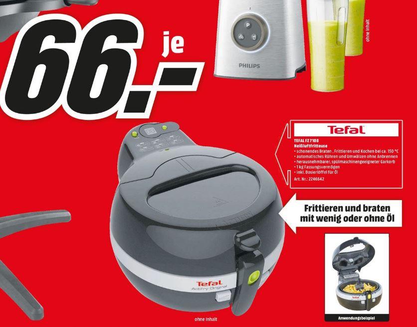[MediaMarkt Berlin] Tefal ActiFry FZ 7108 für 66€