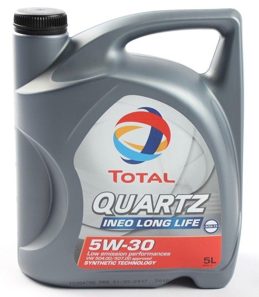 Longlife-Öl Total Quartz Ineo 5W-30 5 Liter für 4,79 den Liter!