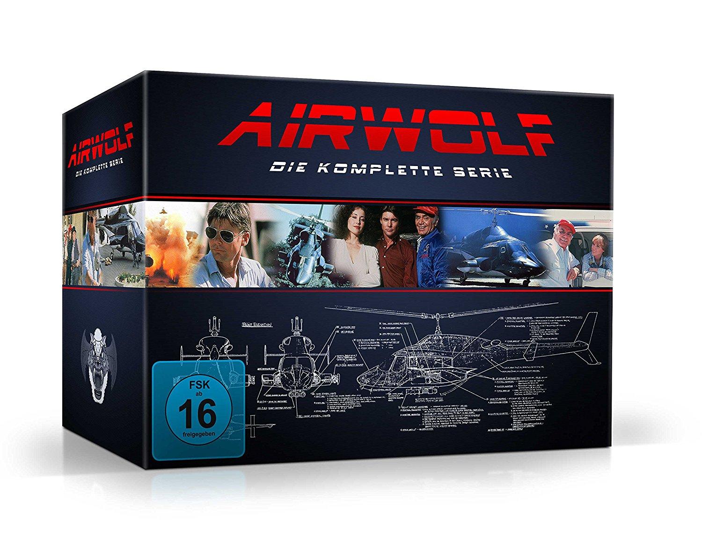 Airwolf - Die komplette Serie (21 Discs DVD) für 40,35€ (Amazon)