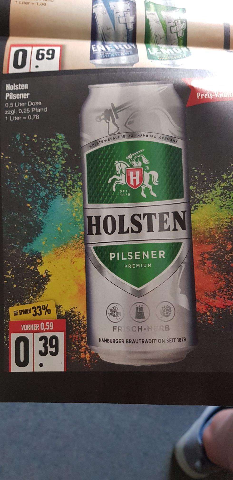 Holsten Bier 0.5 l Dose