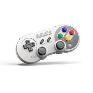 8Bitdo SF30 Pro (Switch, iOS, Android, PC)