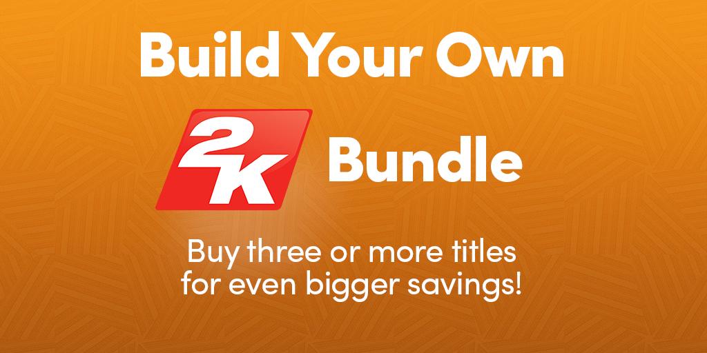 [Humble Bundle] Bis zu 85% Rabat bei Kauf von mindestens 3 ausgewählten 2K Spielen auf Listenpreise