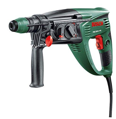 [Amazon Prime only] Bosch Bohrhammer PBH 3000-2 FRE (SDS Bohrfutter, Flachmeißel, Tiefenanschlag, Zusatzhandgriff, Koffer, 750 Watt)