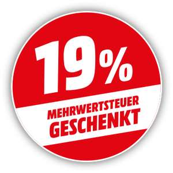 [Mediamarkt /Saturn] 19% Rabatt auf ausgewählte Produkte von Samsung **Kombinierbar mit 5 für 4 Aktion beim Mediamarkt