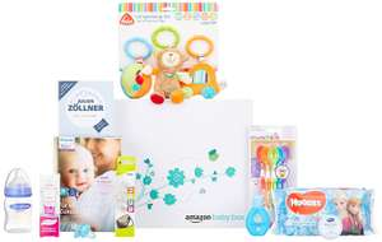 Amazon Baby Box gratis, beim Kauf von Artikeln in Höhe von 35€ aus der Baby Wunschliste