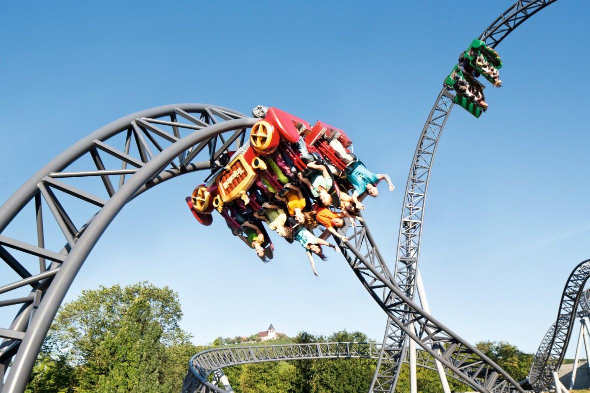Erlebnispark Tripsdrill Eintrittskarte (gültig bis 4.11.)