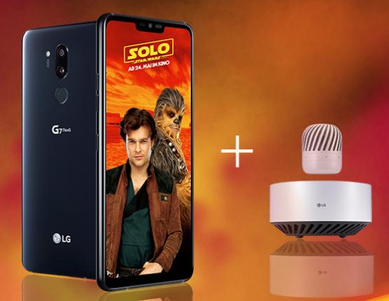 LG G7 ThinQ (LGs neues Flaggschiff-Smartphone) + LG PJ9 Bluetooth Lautsprecher im smartmobil LTE starter mit 3GB LTE für 26,99€ mtl. (effektiv 3,28€ wenn man das Smartphone verkauft)