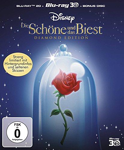 Die Schöne und das Biest Diamond Edition (3D Blu-ray + 2D + Bonus Disc) für 12,95€ (Amazon Prime)
