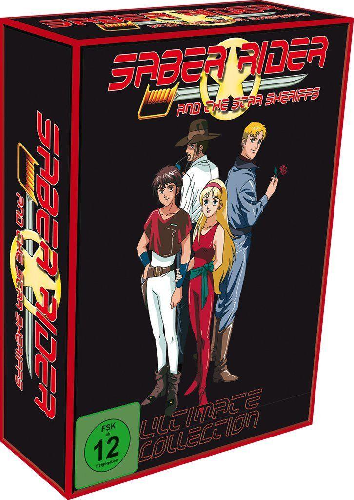 Saber Rider and the Star Sheriffs - Ultimate Edition [10 DVDs] bis 12Uhr in Blitzangebote