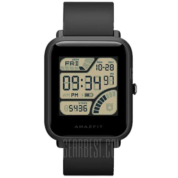 [GEARBEST] Huami Amazfit BIP Smartwatch INTERNATIONAL VERSION (inkl. Germany Express Versand)