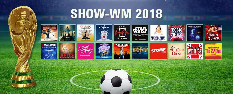 [BB Promotion] 50% Rabatt auf viele Musicals/Shows zur WM!
