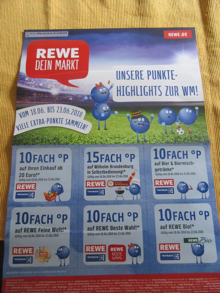 REWE - 10 fach Payback Coupons eventuell Regional / Mannheim