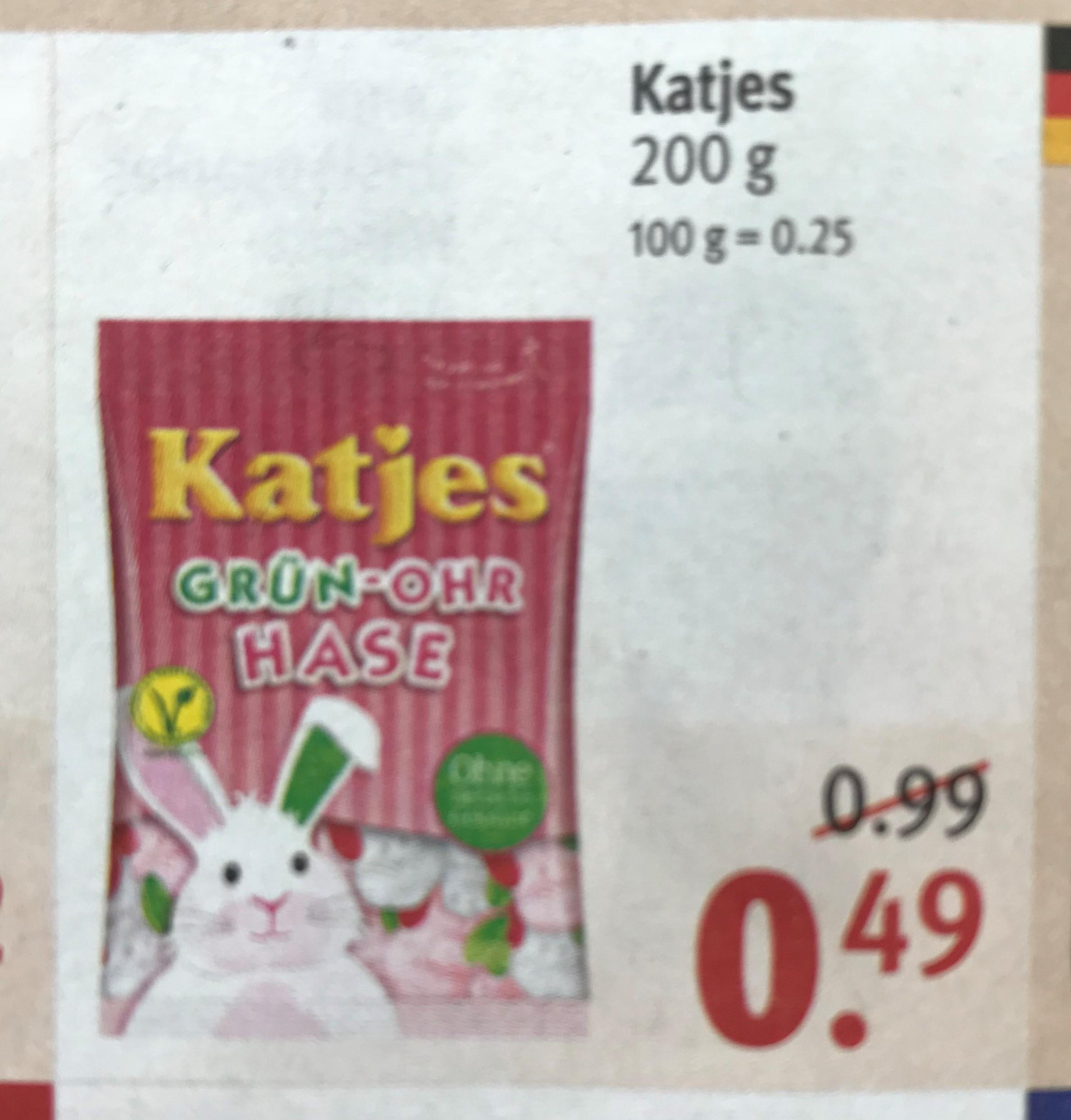 Katjes verschiedene Sorten 200g durch 10%-Gutschein für 0,44€ [Rossmann]
