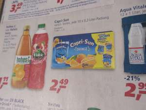 Real - Capri Sun 1,99 mit Coupon   / Crunchips 0,88 / Oettinger