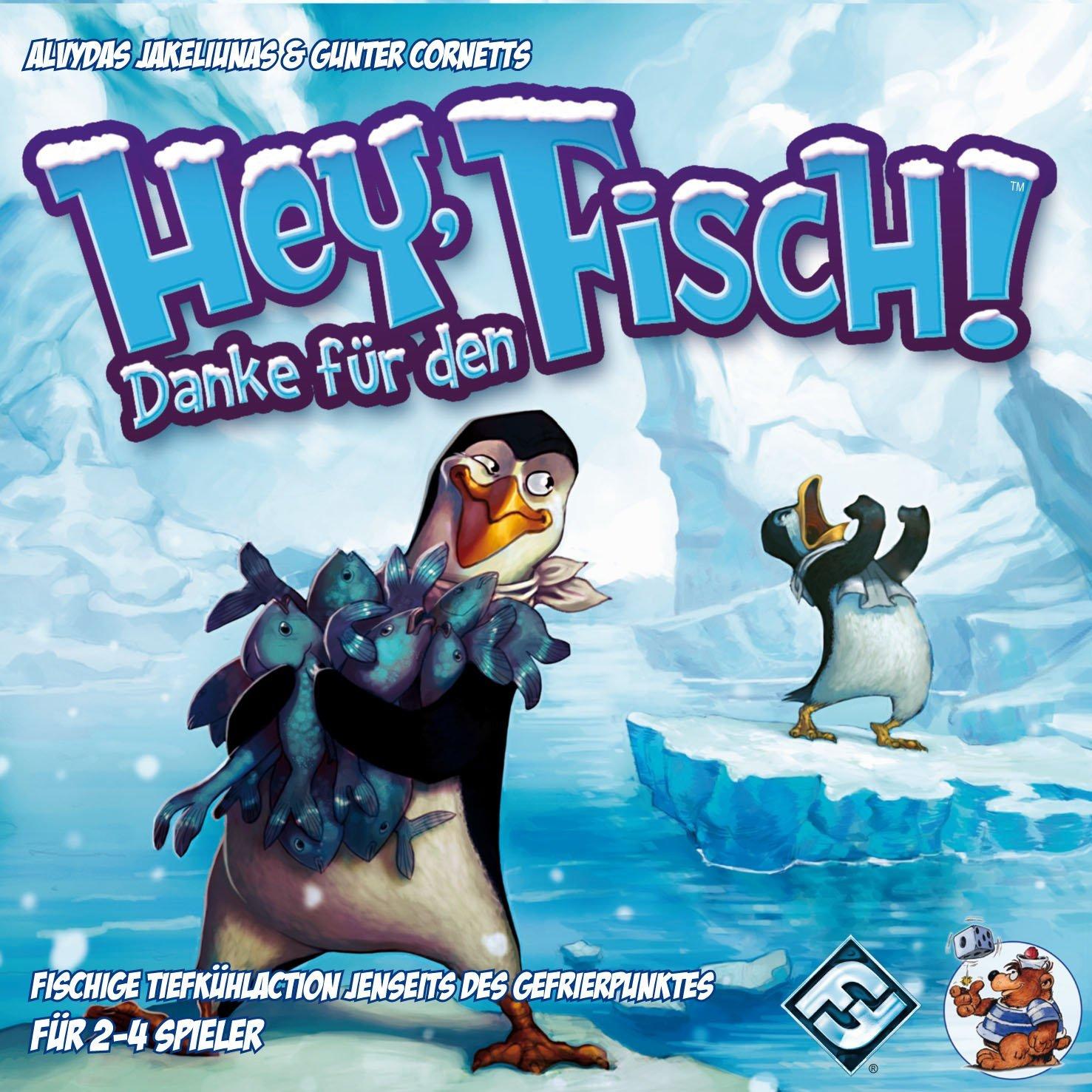 Hey, danke für den Fisch (Gesellschaftsspiel/Kinderspiel) für 9,54€ @Amazon
