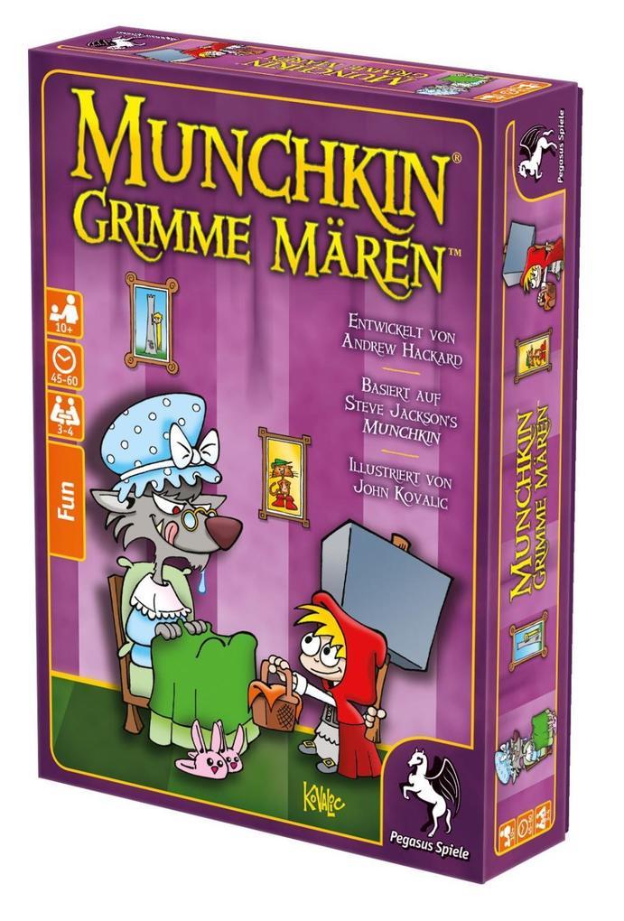 16% Gutschein auf Spielwaren  @ Hugendubel (z.B. Munchkin: Grimme Mären für 8,55€)