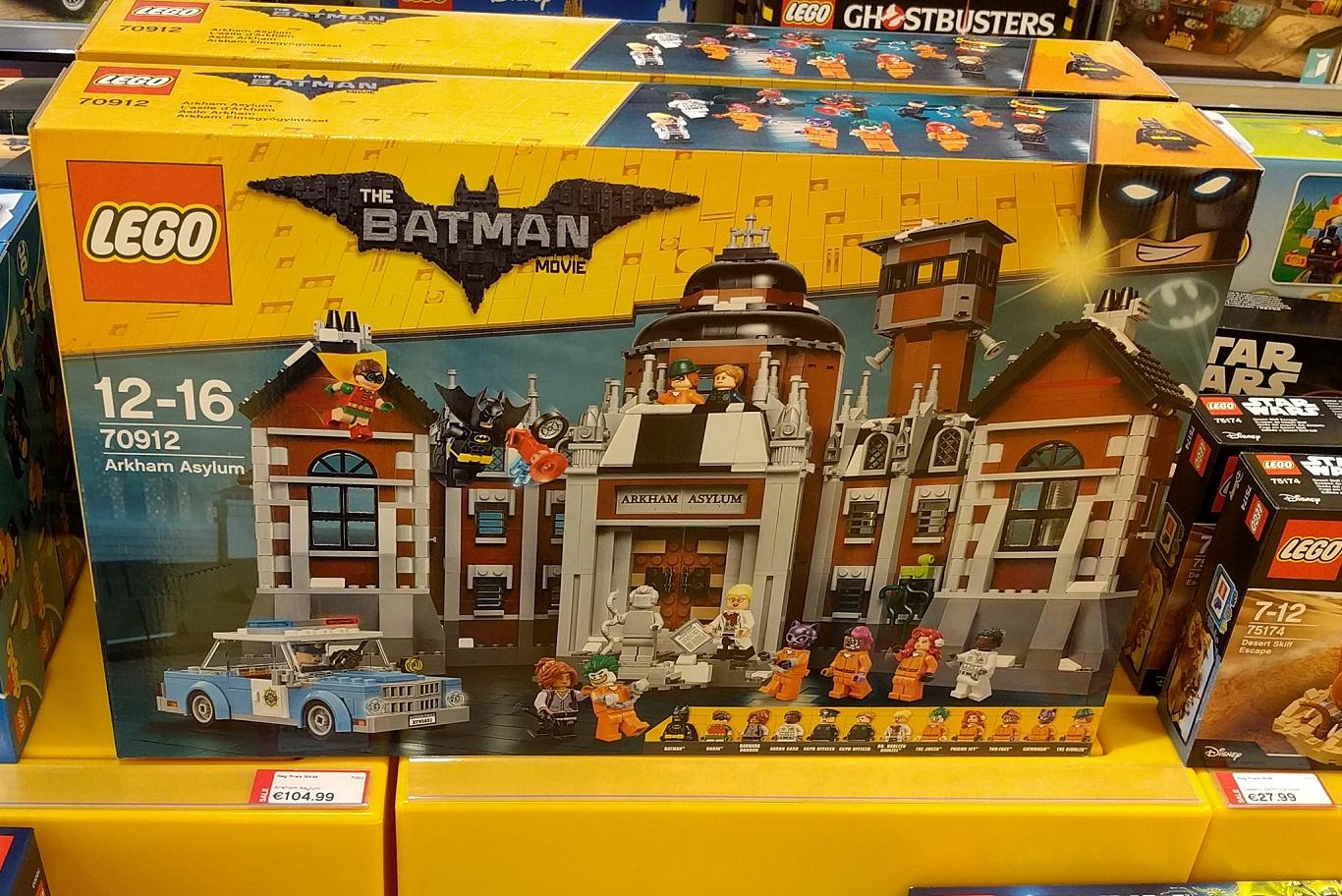 (lokal Hamburg) LEGO Batman - Arkham Asylum (70912)