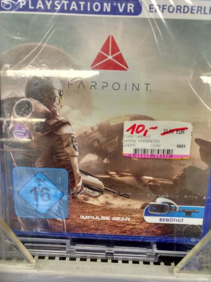 Media-Markt Feuerbach: Farpoint VR für 10€