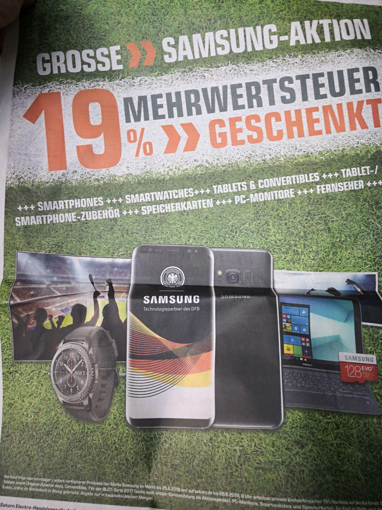 Samsung / Saturn 19 % Aktion in Heilbronn und auf Saturn.de