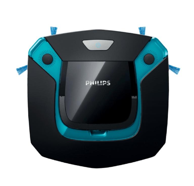 PHILIPS FC8794/01 SmartPro Easy Saugroboter Schwarz/Blau mit Station NEU&OVP