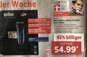 LIDL: Braun Series 3 ProSkin Team-Edition