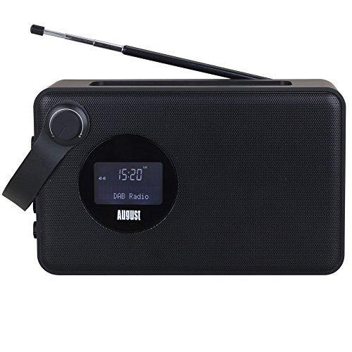 August MB415 - DAB Radio mit NFC Bluetooth Lautsprecher in schwarz für 27,27€ [amazon.fr]