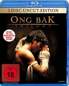 Ong Bak Trilogy 3-Disc Uncut Edition (Blu-ray) für 9,99€ (Amzon & Müller)