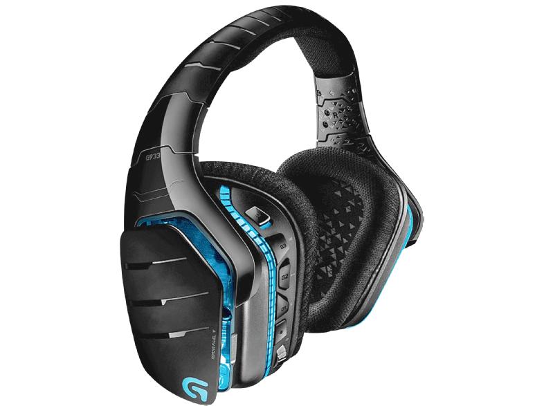 [Mediamarkt] LOGITECH G933 Artemis Spectrum Gaming-Headset Schwarz/Blau für 88,-€