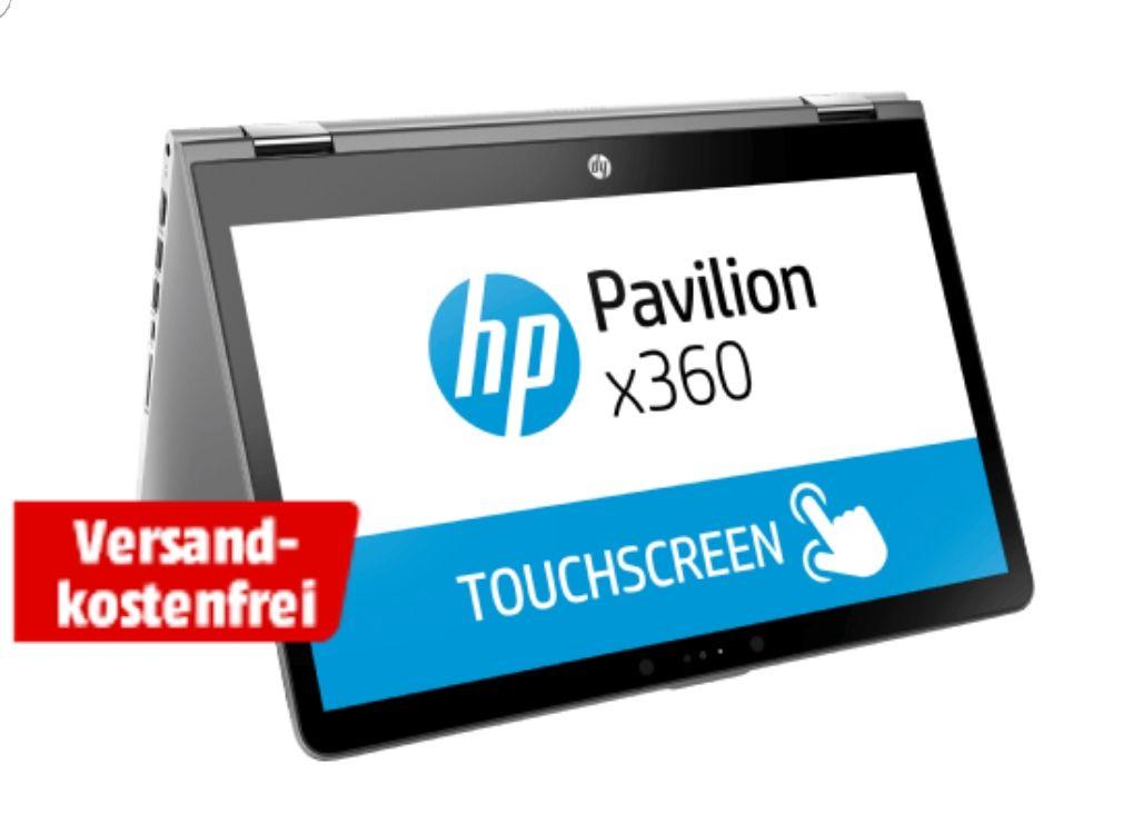 [Media Markt] HP PAVILION X360 14-BA131NG Convertible, i7 (8. Gen), 256 GB, MX130, 14 Zoll IPS