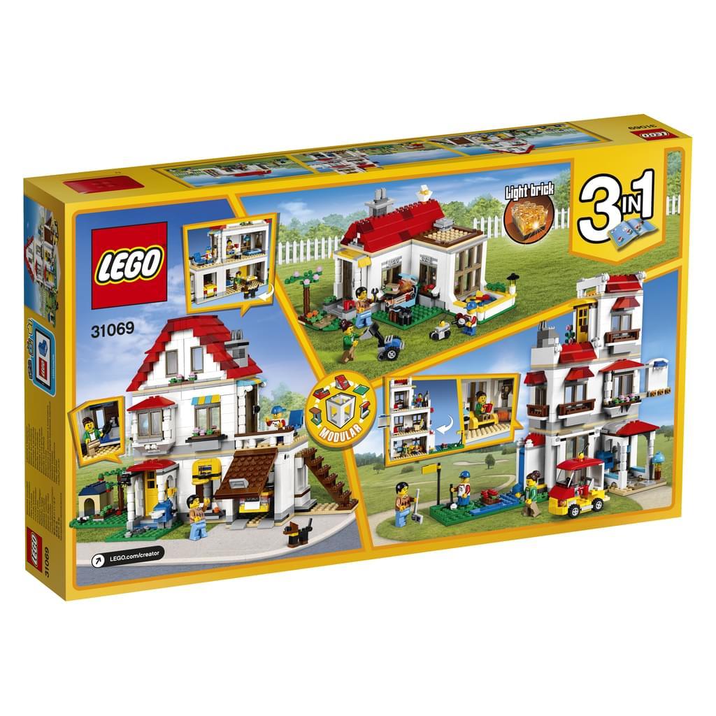LEGO Creator Familienvilla 31069 für 37€ [Real]