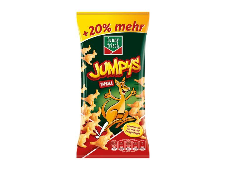 Funny Frisch Spezialitäten z.B. Jumpys für 88 Cent (Lidl ab 18.06.)