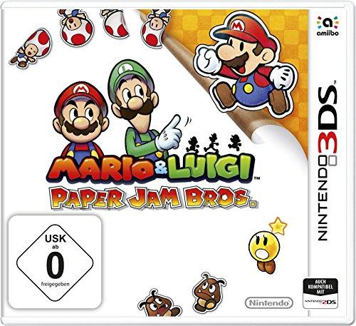 Mario & Luigi: Paper Jam Bros. (3DS) für 15€ versandkostenfrei (Amazon Prime & Saturn)