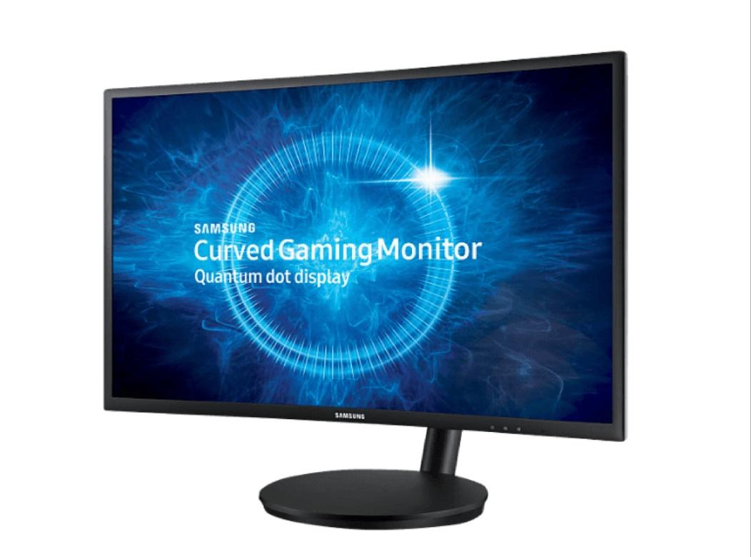 SAMSUNG C27FG70FQU Curved 27 Zoll Full-HD Gaming Monitor, 1 MS Reaktionszeit, Freesync, 144 HZ)