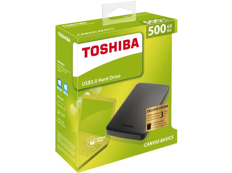 "[Mediamarkt] Toshiba Canvio Basics 500GB, USB 3.0 Micro-B, 2,5"" (HDTB305EK3AA)"