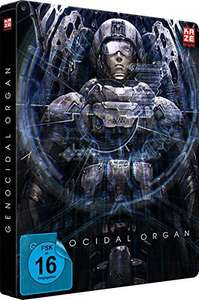 Amazon: Genocidal Organ - Project Itoh Trilogie Teil 3 - Steelbook (+ DVD) [Blu-ray] [Collector's Edition]