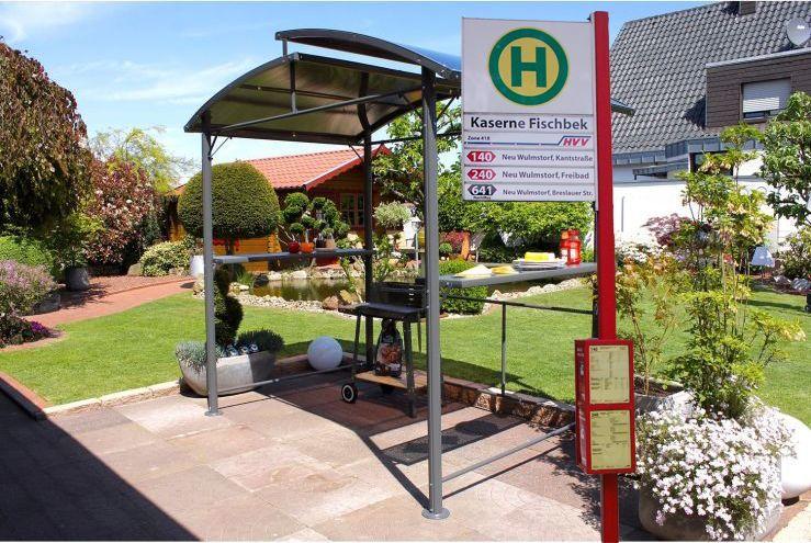 Private Bushaltestelle / Leco Profi-Grillpavillon 150 x 245 x 233 cm, neuer Bestpreis [Dehner]