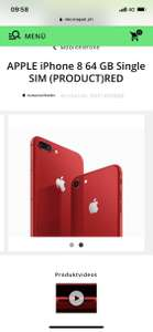 [Schweiz] iPhone 8 Red Ed. 64GB