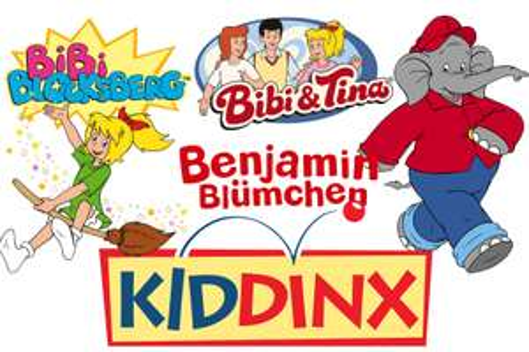 Oldschool - Kassetten (MC) von Bibi & Tina, Bibi Blocksberg und Benjamin Blümchen