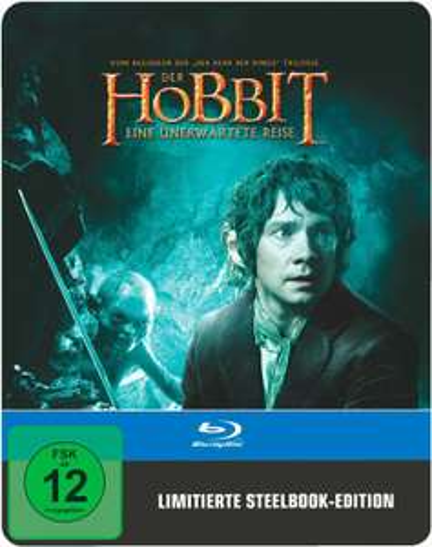 Der Hobbit: Eine unerwartete Reise Steelbook Edition (Blu-ray) für 6,99€ versandkostenfrei (Saturn)
