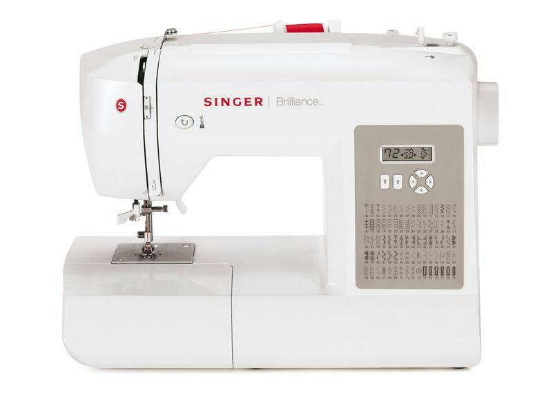 SINGER Elektronik-Nähmaschine Brillance 6180 139€ zzgl. 4,95 Versand