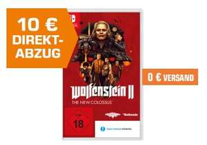 [Saturn] Wolfenstein II: The New Colossus - [Nintendo Switch] für 39,99€ Versandkostenfrei