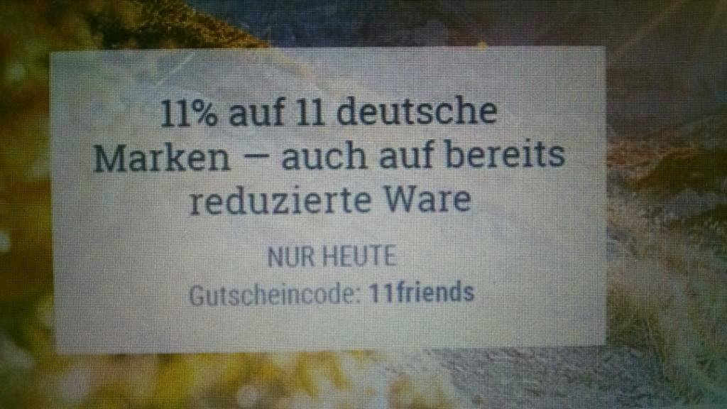 BEENDET [bergzeit.at] Gutschein 11% auf 11 deutsche Marken (nur bis 0 Uhr)