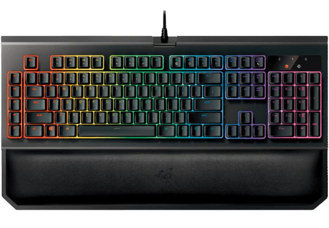 RAZER BlackWidow Chroma V2, Gaming Tastatur, Mechanisch, Razer Green [Media Markt/Amazon]