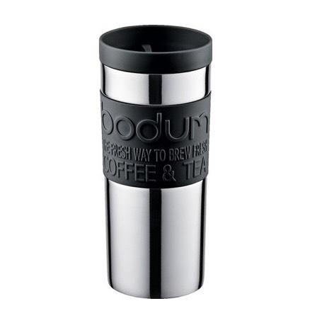 [Müller Onlineshop] BODUM Travel Mug 0,35 l Edelstahl Thermobecher (keine VSK bei Lieferung in eine Filiale)