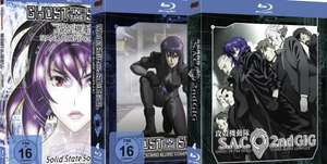 [Blu-ray] Ghost in the Shell - Stand Alone Complex: Solid State Society (Mediabook) für 9,- € @mediamarkt.de / amazon.de und ​Ghost in the Shell: Stand Alone Complex (Complete Edition) und 2nd GIG für je 18,- € @mediamarkt.de