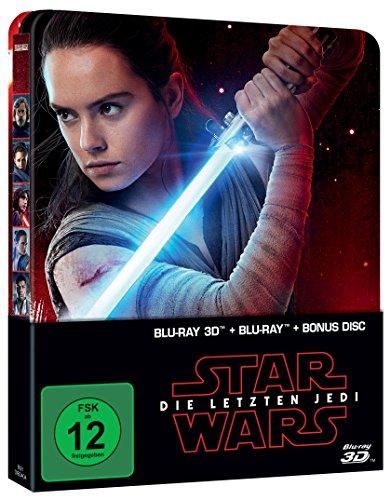 [Amazon] Star Wars: Die letzten Jedi (Steelbook 3D Blur-ray + 2D)