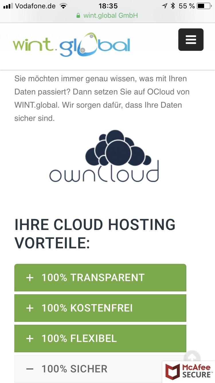 5GB Cloud Hostig - KOSTENLOS