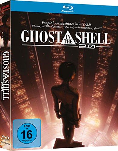 Ghost in the Shell 2.0 Mediabook (Blu-ray) für 12€ versandkostenfrei (Amazon Prime & Media Markt)